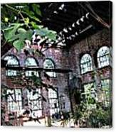Abandoned Power House Canvas Print
