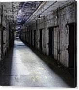 Abandoned Prison Canvas Print