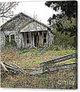 Abandoned Property Canvas Print