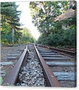 Abandoned Railroad 1 Canvas Print