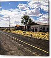 Abandoned Rest Stop Canvas Print