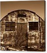 Abandoned Storage Shed Canvas Print