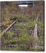Abandoned Tracks Canvas Print