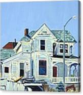 Abandoned Victorian In Oakland  Canvas Print