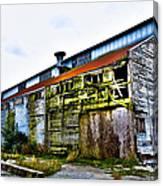 Abandoned Warehouse On The Swinomish Channel - La Conner Washington Canvas Print