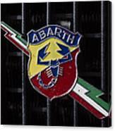 Abarth Emblem Canvas Print