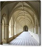 Abbaye De Frontevraud  Cross Coat Canvas Print