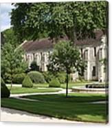 Abbey Fontenay Burgundy Canvas Print
