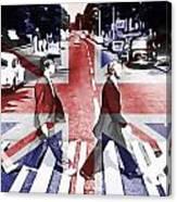 Abbey Road Union Jack Canvas Print