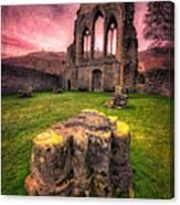 Abbey Ruin Canvas Print