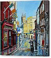 Abbey Street Ennis Co Clare Ireland Canvas Print