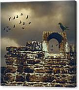 Abbey Wall Canvas Print