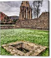 Abbey Well Canvas Print