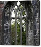 Abbey Window  Canvas Print