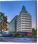Abc American Broadcasting Company Burbank Ca Canvas Print