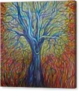 Abc Of Autumn Canvas Print