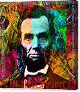 Abe The Broham Lincoln 20140217 Canvas Print