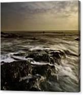 Aberffraw Sunset Canvas Print