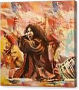 Abida Parveen Canvas Print