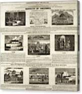 Abolitionism, 1736 Canvas Print