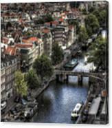 Above Amsterdam Canvas Print