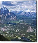 Above Banff Canvas Print