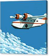Above It All  The Grumman Goose Canvas Print