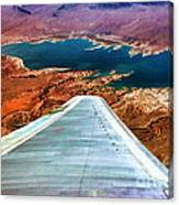 Above Lake Mead By Diana Sainz Canvas Print