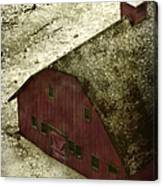 Above The Barn Canvas Print