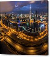 Above The City Canvas Print
