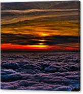 Above The Marine Layer Canvas Print