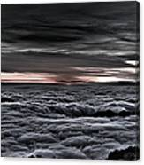 Above The Marine Layer V2 Canvas Print