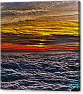 Above The Marine Layer V3 Canvas Print