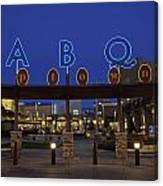 Abq Uptown Entrance Canvas Print