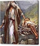 Abraham And Isaac Canvas Print