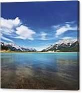 Abraham Lake Alberta Canada Canvas Print