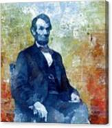 Abraham Lincoln 16th President Of The U.s.a. Canvas Print