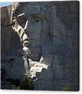 Abraham Lincoln Mount Rushmore National Monument Canvas Print