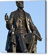Abraham Lincoln Statue Philadelphia Canvas Print