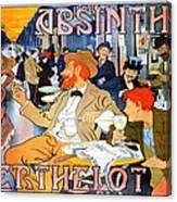 Absinthe Berthelot Canvas Print