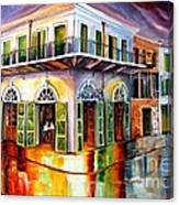 Absinthe House New Orleans Canvas Print