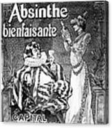 Absinthe Poster, 1892 Canvas Print