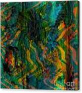 Abstract - Emotion - Apprehension Canvas Print
