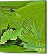 Abstract - Rectangle - Linear Verte Canvas Print