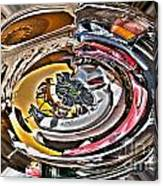 Abstract - Vehicle Recycling Canvas Print