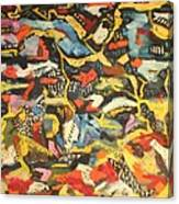 Abstract 1957 Canvas Print