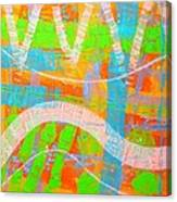 Abstract  23614   Diptych  I  Canvas Print