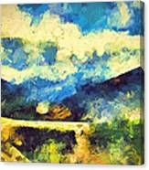 Abstract 46 Canvas Print