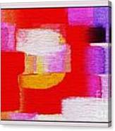 Abstract 892 Canvas Print