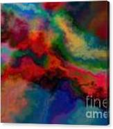 Intrigued - Abstract Art  Canvas Print